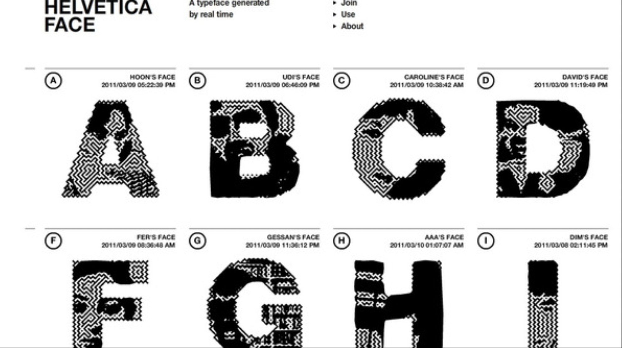 Helvetica Face: Your Face As A Font - VICE