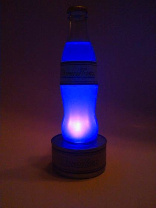 Prepare For The Post Nuclear World With An LED Soda Lamp [Instructables  How To]   Creators