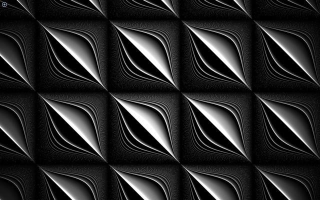 Hypnotic Black And White Op-Art Music Visuals - VICE