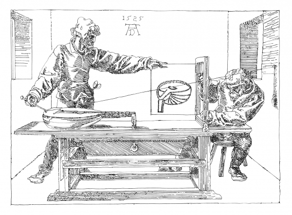 machine drawings of historical drawing machines