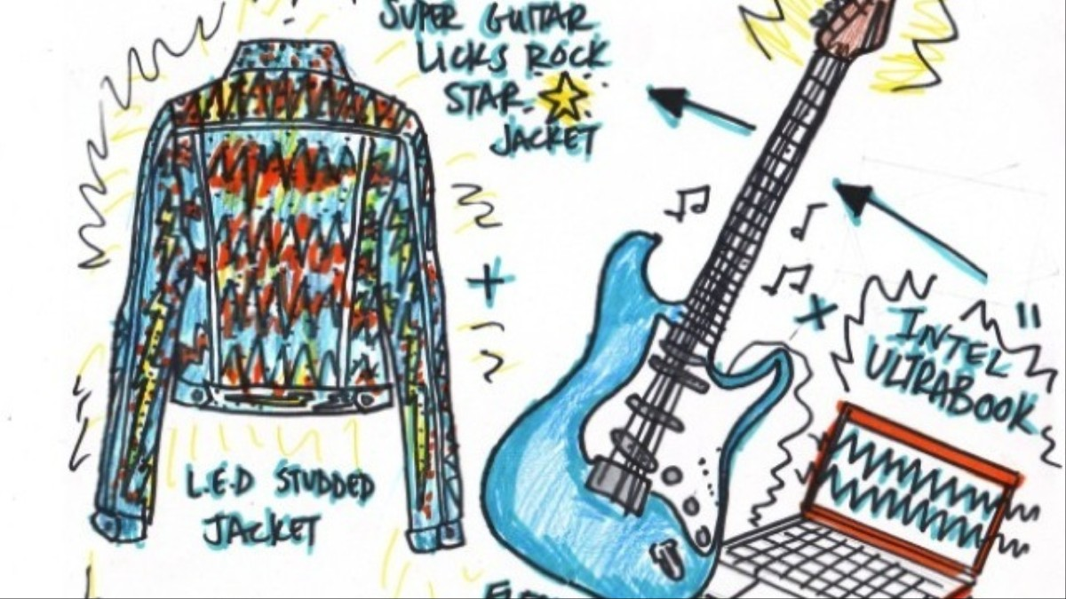 Your Guitar Riffs Turn This Jacket Into A Disco Ball Vice Electric Diagram Intuitive