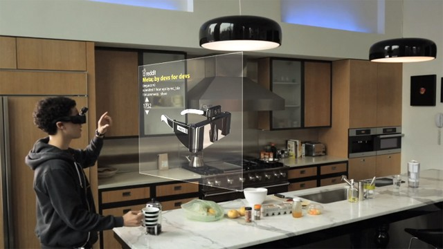 Move Virtual Objects With Gesture-Control Augmented ...