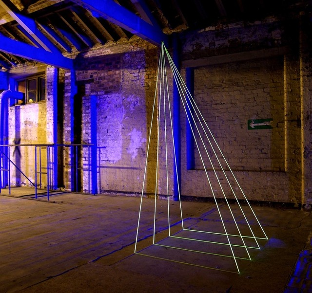 Kinetica art fair exploring light as an artistic