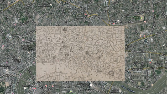 3200 Historic Maps Of Battles And Cities Were Placed On Top Of