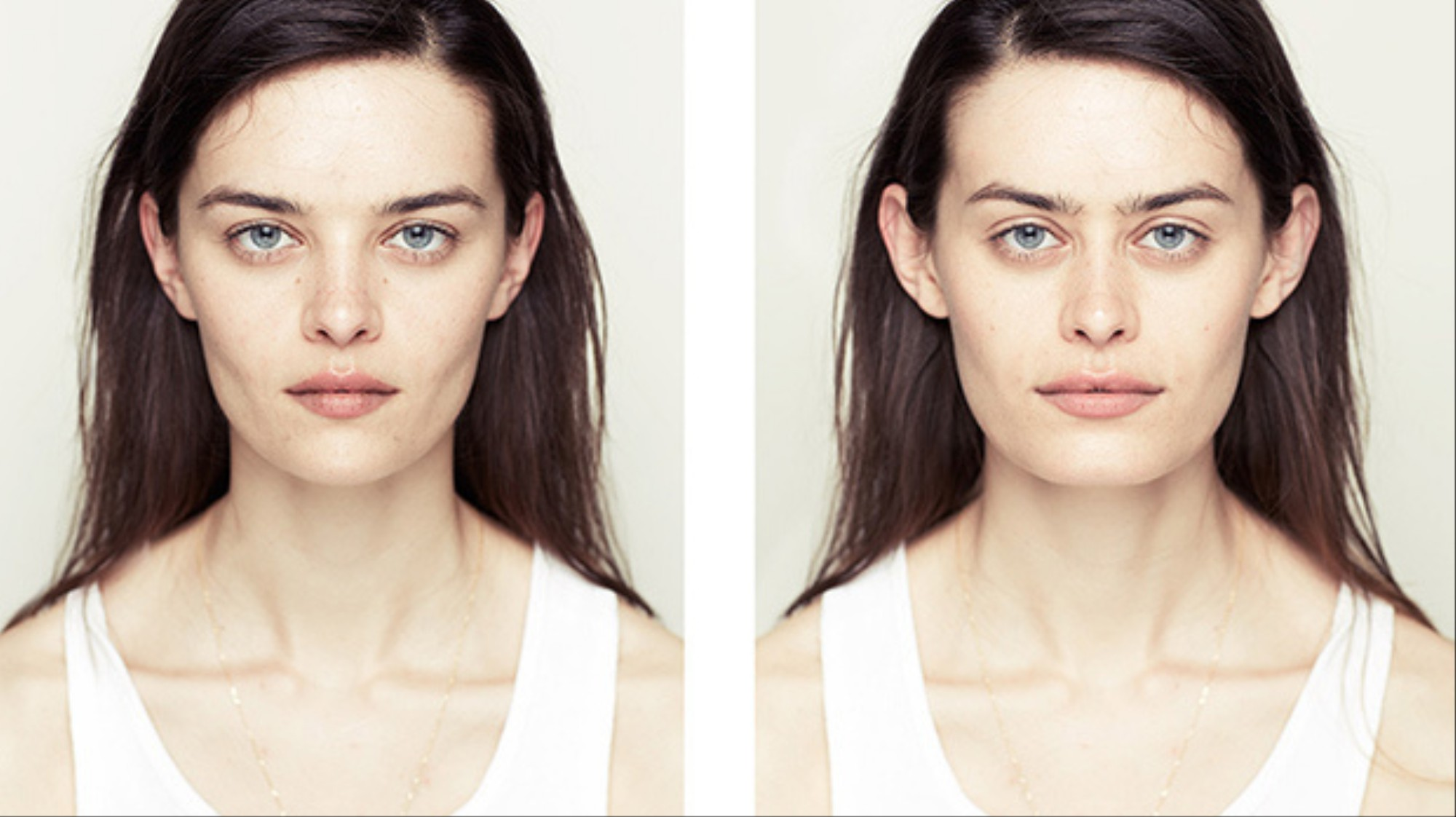 Photo Series Constructs Symmetrical Faces To Test