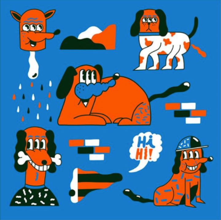 Drawing Colorful Creatures Is This Artist's Hangover Cure | Monday Insta Illustrator
