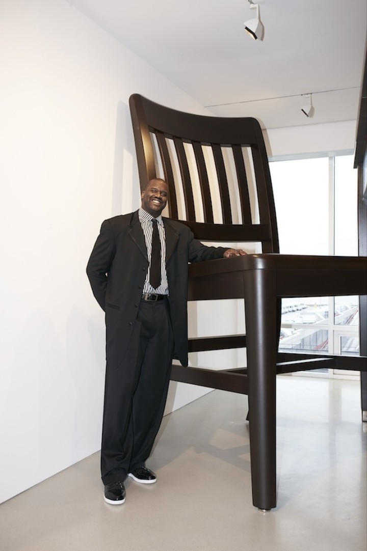 Shaquille O'Neal Just Opened His New Art Exhibit