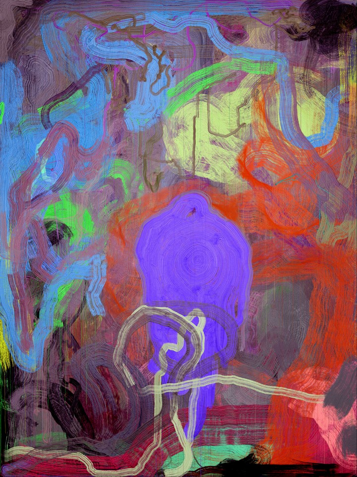 """Abstract """"Paintings"""" Created Entirely By A Computer"""