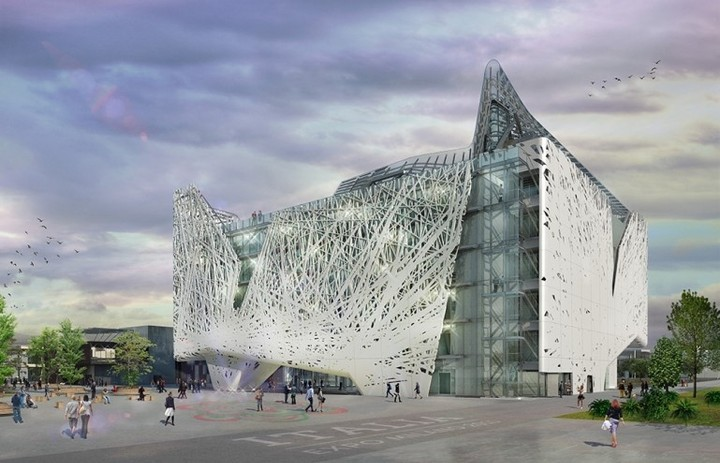 New Building Facade Will Absorb The Smog In Milan