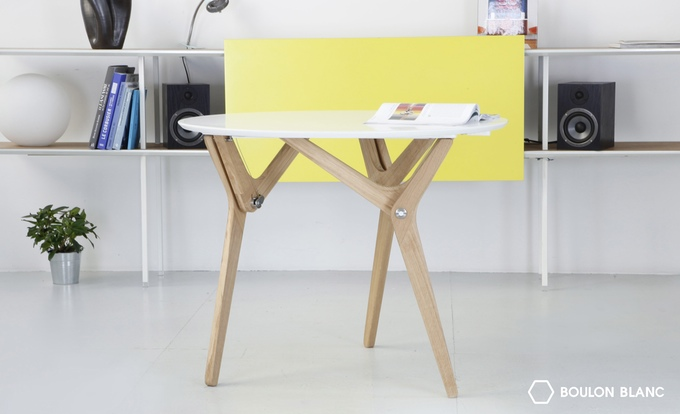 This Transforming Furniture Puts The Table In The Adjustable Vice