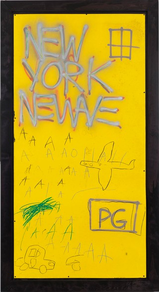 3. Jean-Michel Basquiat, Untitled, 1980, Whitney Museum of American Art, ARS, New York, ADAGP, Paris.jpg