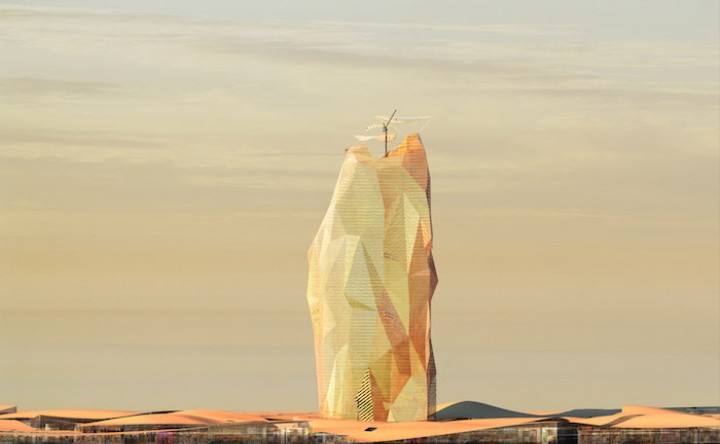 Is This Sand Tower the Future of Urban Sprawl?