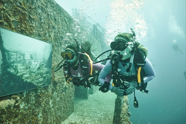The 18th Century Is Alive and Well on This Sunken Ship Turned Art Gallery