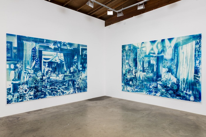 Rosson Crow painting installation 1.jpg