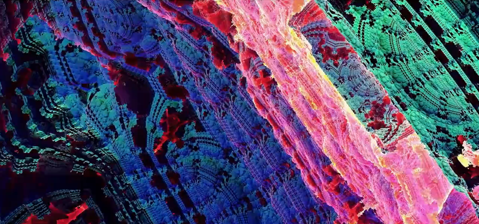 Tove Agélii's New Music Video is a Hallucinatory Trip Inside 3D Fractals