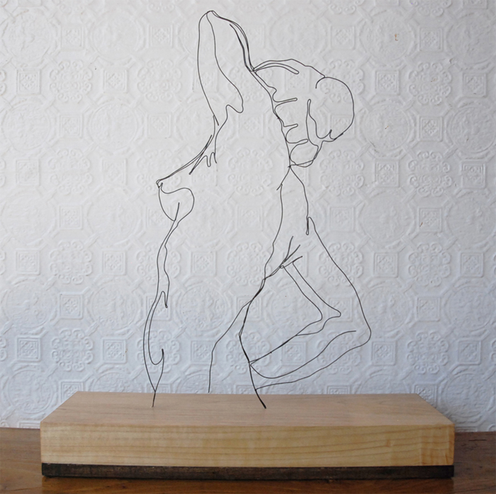 Simple Wire Drawings Show the Fragility of Human Life - Creators