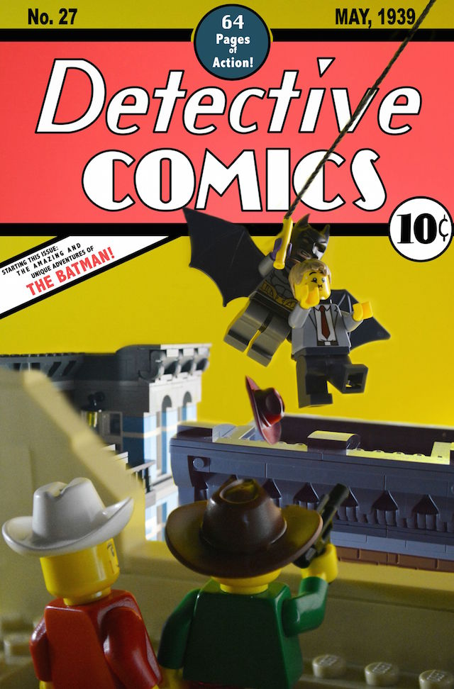 Recreating Iconic Comic Book Covers with Lego - Creators
