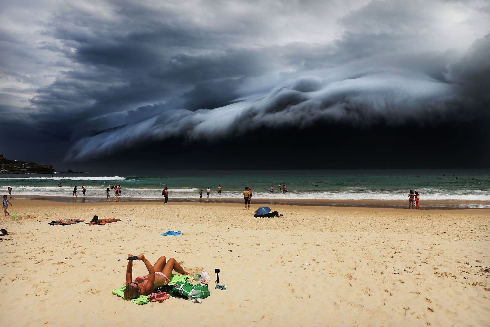© Rohan Kelly - Storm Front on Bondi Beach.jpg