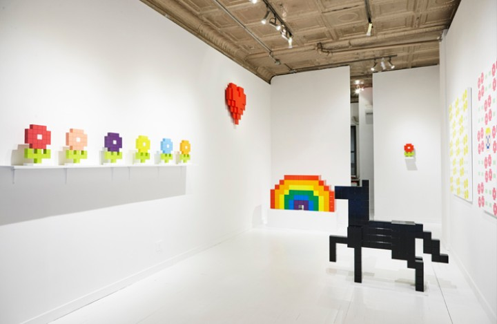 Pixels and Cuteness Form These Emoji-Inspired Sculptures