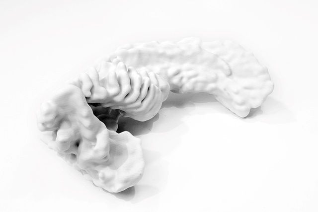Sounds and gestures become 3D printed renderings in Inmi Lee & Kyle McDonald's