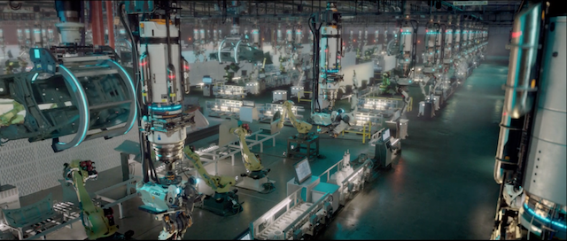Image result for sci fi factories