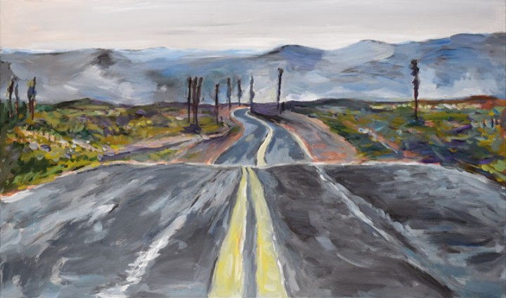 Bob Dylan Paints the American Landscape in a New Exhibition of His Artwork