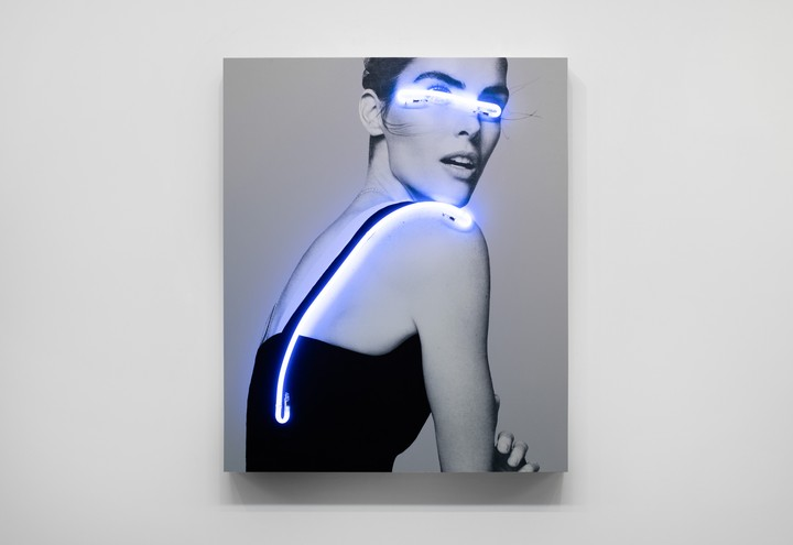 Fashion Photographs Turn Subversive With Neon Censors
