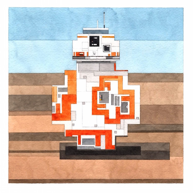 Pixel Watercolors Are The Art Of Nostalgia Vice