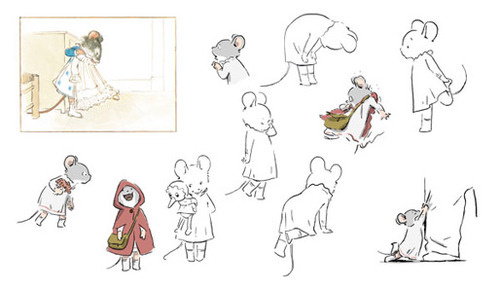 Los Angeles Go See The Premiere Of Oscar Nominated Animated Feature Ernest Celestine