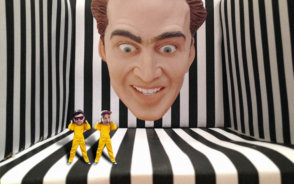 Face Off Against Nicolas Cage In A Giant Cage Creators