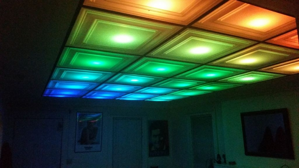 How To Turn Your Room Into A Nightclub With A Diy Led Ceiling