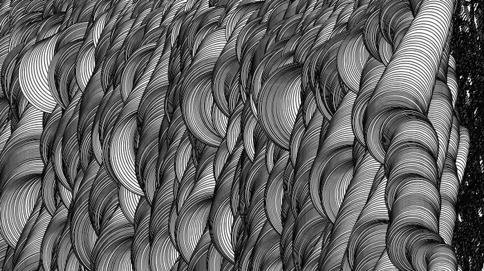 Lose Yourself in a Coded World of Patterns and Geometry