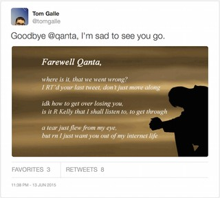 The Twitter App That Sends Goodbye Poems to Your Unfollowers - VICE