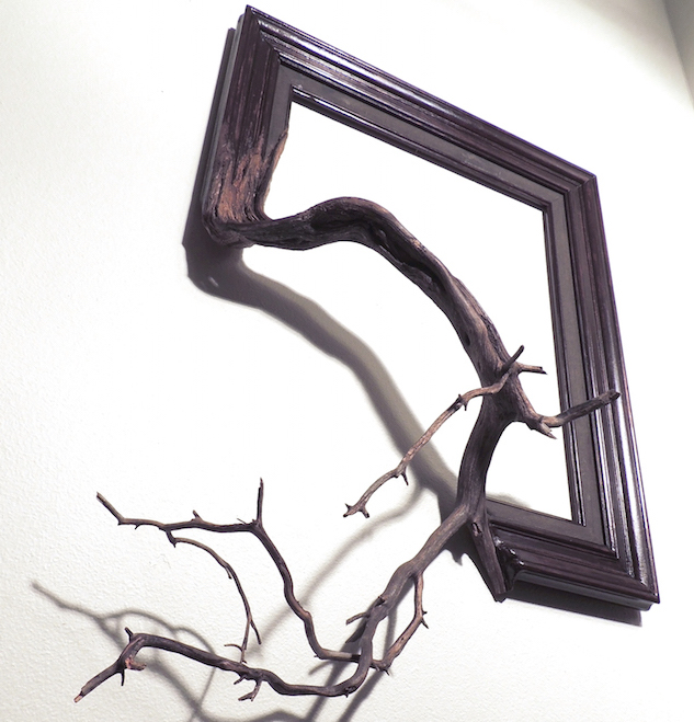 Twisted Picture Frames Fused with Tree Branches - Creators