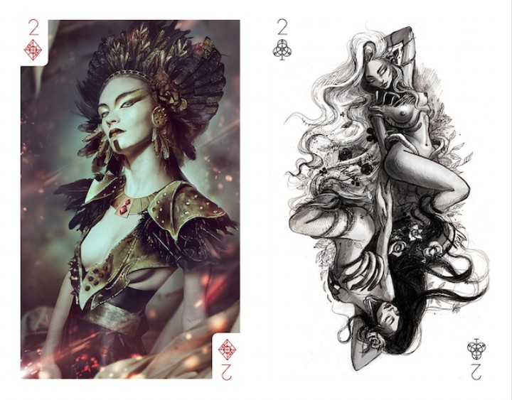 55 Bulgarian Artists Create an Illustrated Deck of Cards