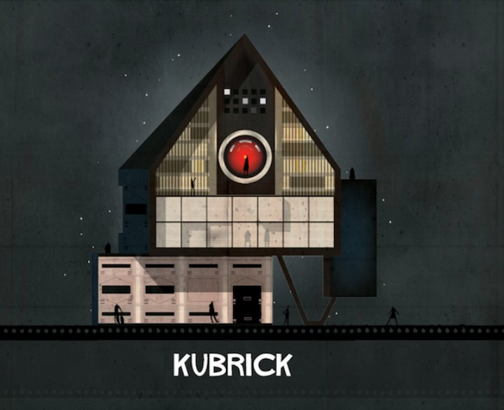 What If Famous Filmmakers Were Houses?