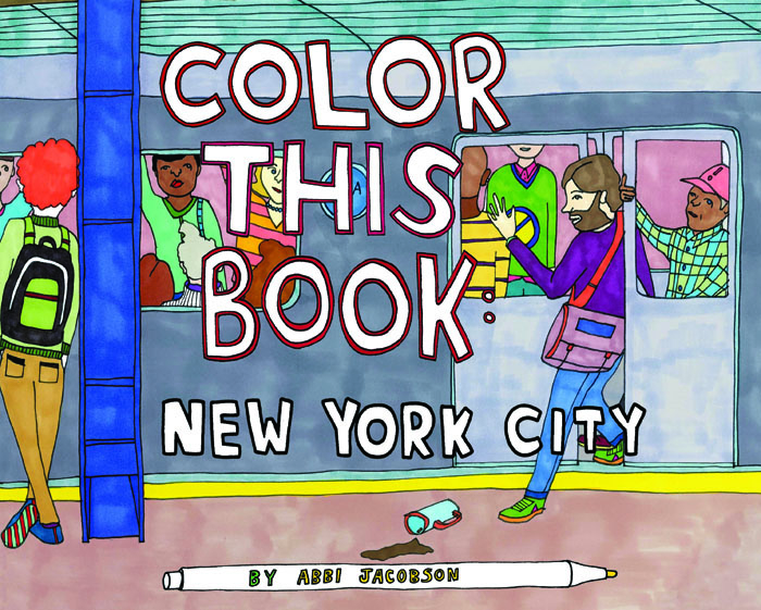 That Time Broad City S Abbi Jacobson Drew Coloring Books Vice