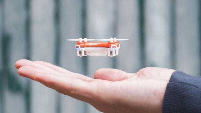This Article Originally Appeared On The Creators Project Netherlands Meet Smallest Drone