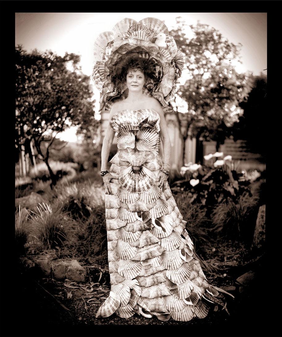A Surreal Paper Dress for Susan Sarandon - Creators