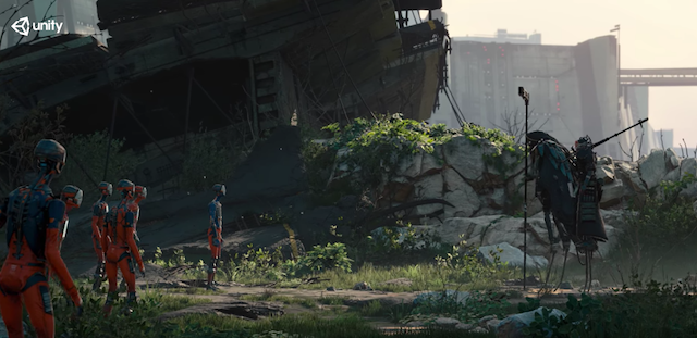 This Game Engine-Rendered Sci-Fi Short Film's Graphics Are Jaw