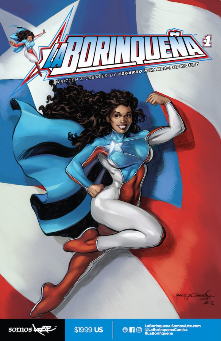 Puerto Rico's Superman is a Super-Woman from Brooklyn
