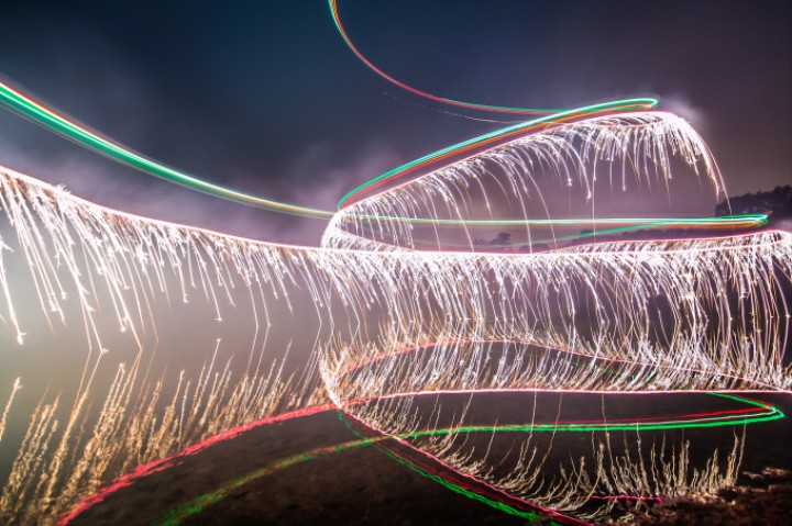 Fireworks + Drones = Today's Best Light Paintings - VICE