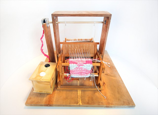 This Digital Loom is More Than Just a Desktop Fabric Printer—It's