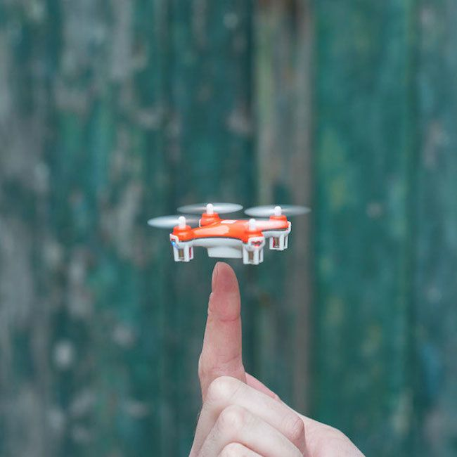 Meet The Smallest Drone On Planet