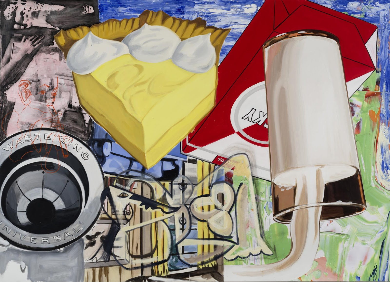 There Are No Rules in David Salle\'s Painted Pop Culture Mashups ...
