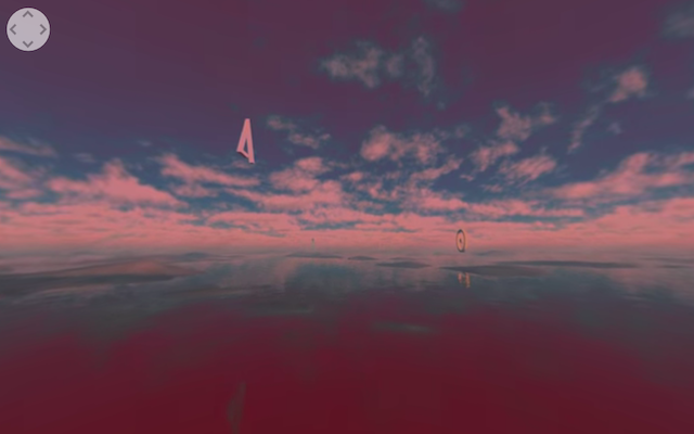Fly Through a Virtual Planet in 360° Music Video [Premiere