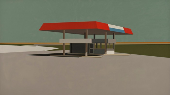 Clean Lines Reign Supreme in this Painter's Appealing Artworks