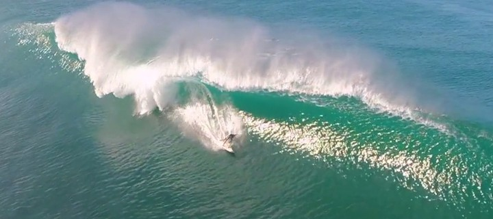 Strapping A Camera To A Drone Results In The Most Insane Surf Video - VICE