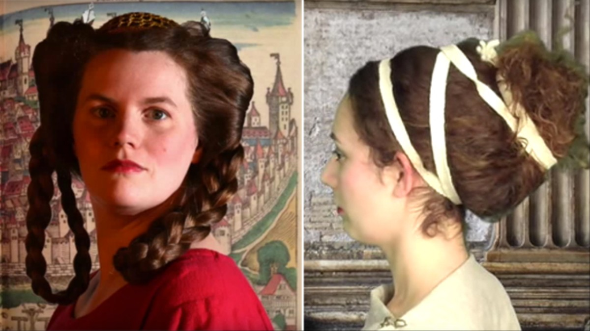 A Hairstyle Archaeologist Is Recreating Ancient Updos Vice