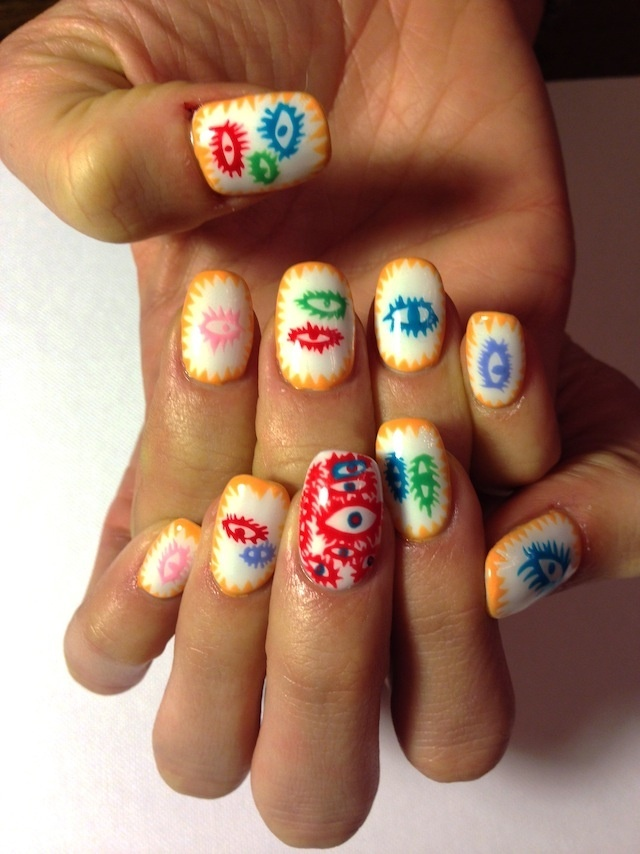 New site combines nail art and art history creators new site combines nail art and art history prinsesfo Images